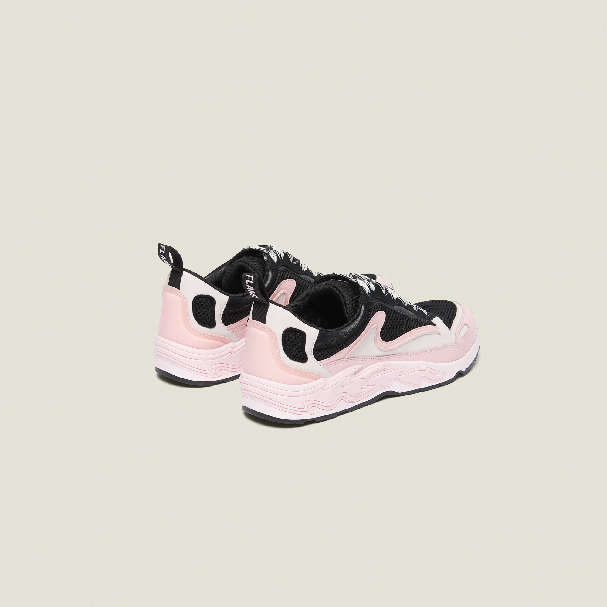 39a43b61d0 ... Flame sneakers   Shoes color Rose pastel ...