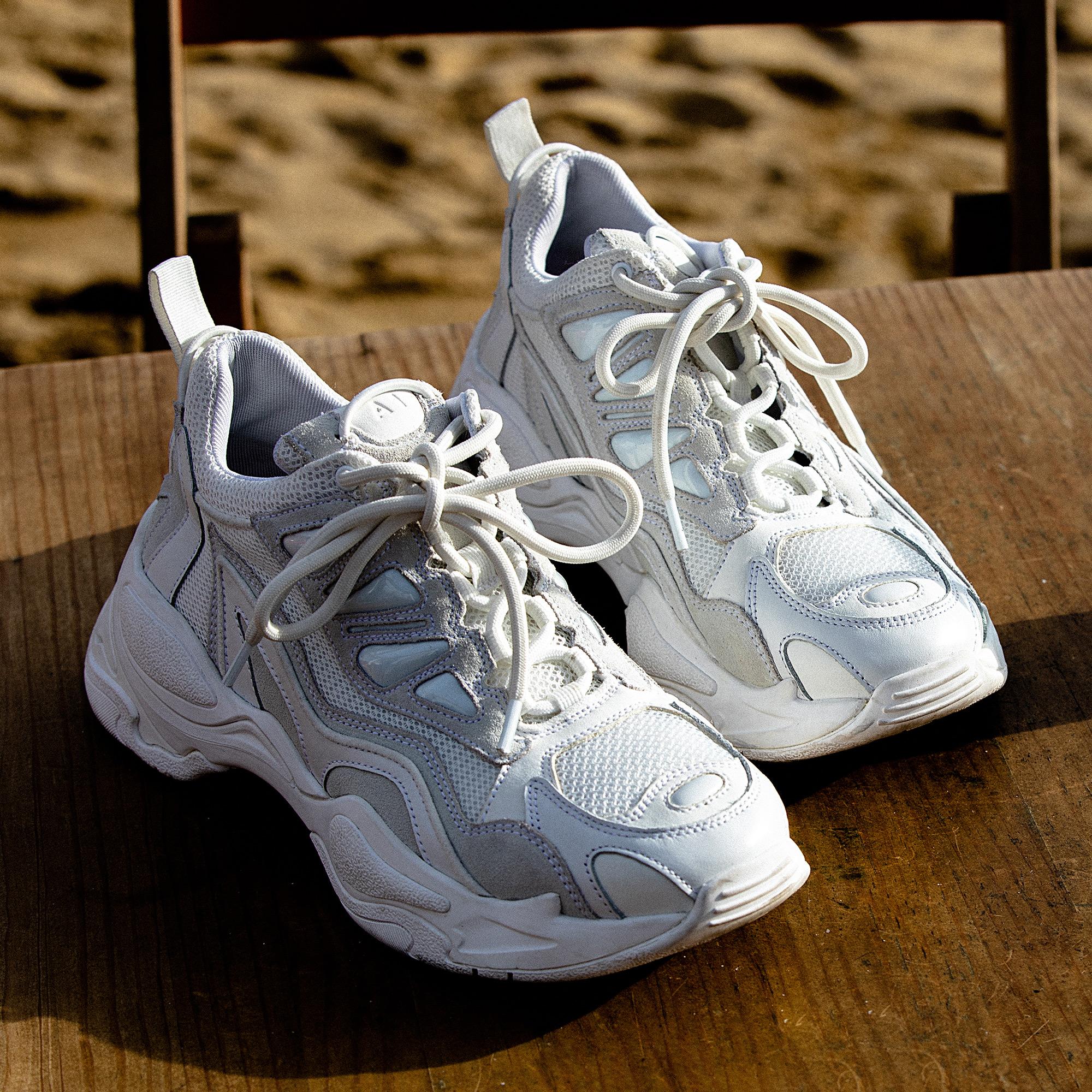 e158cb097e98 ... Astro sneakers with graphic soles   Shoes color white ...
